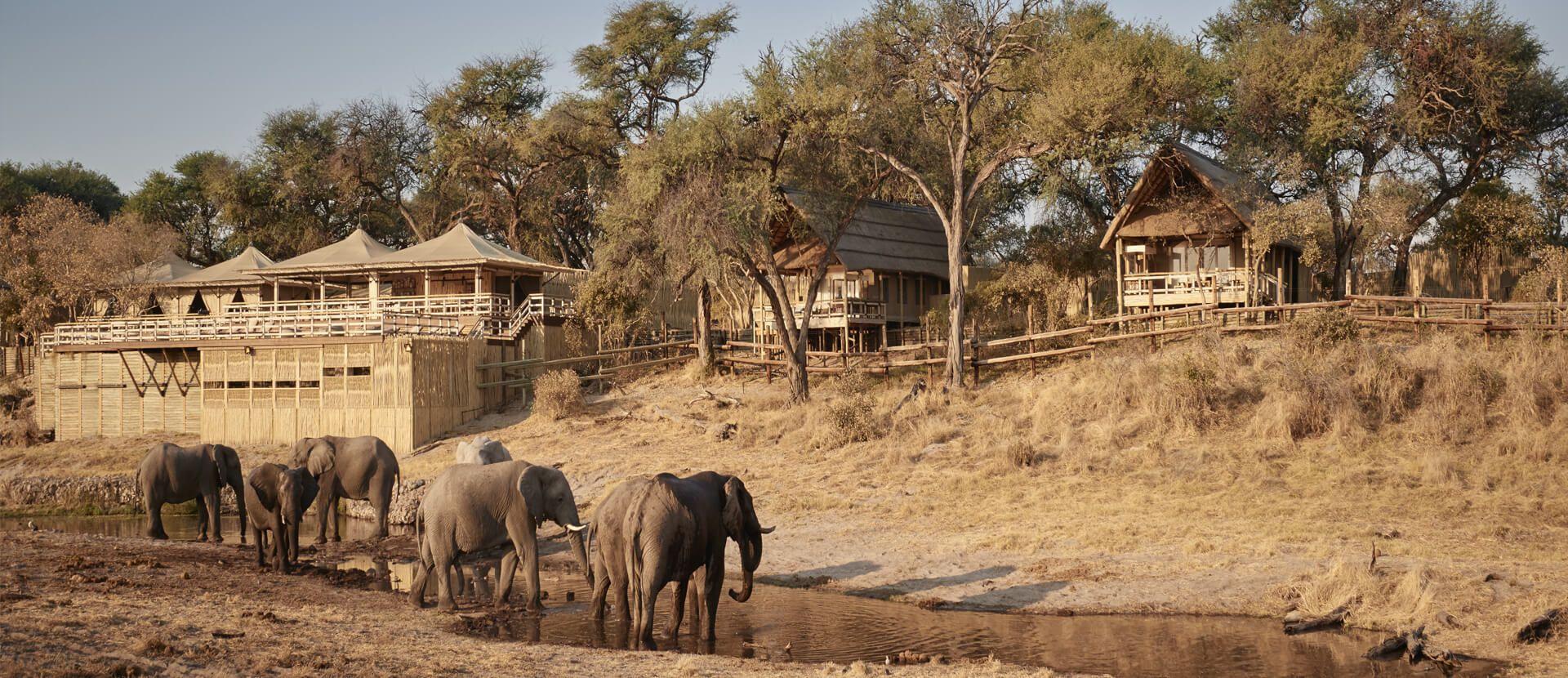 Belmond Savute Elephant Camp, Botswana