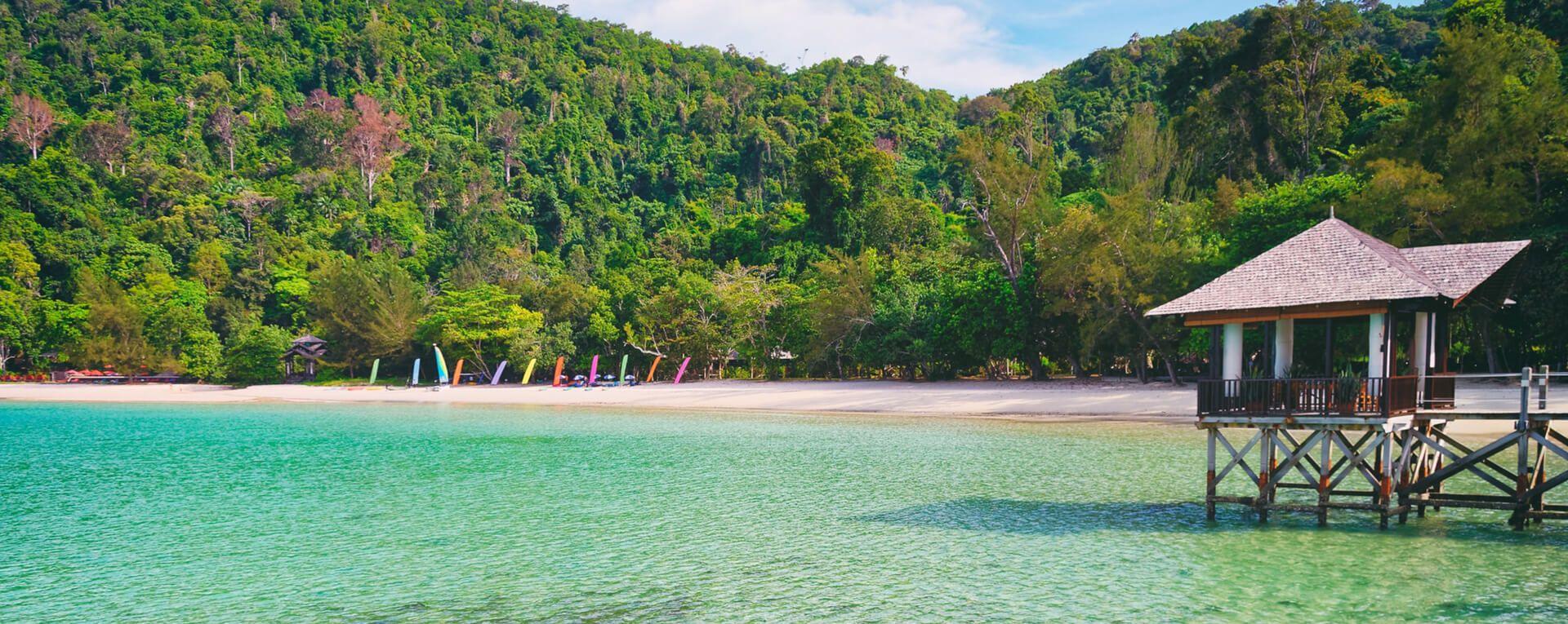 Bungaraya Island Resort & Spa, Malaysia