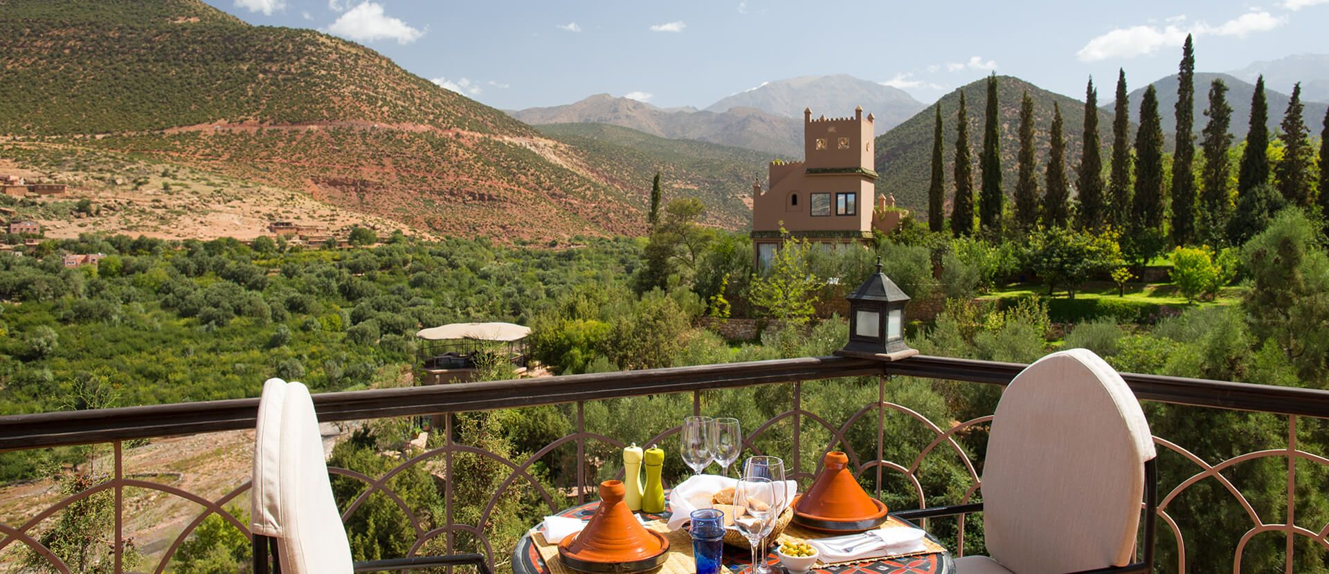 Kasbah Tamadot, Atlas Mountains