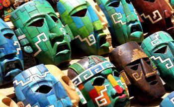 Mexico Souvenir Masks
